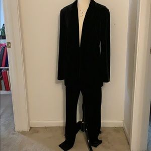Express suede suit